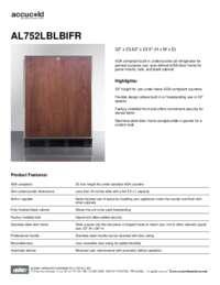 Brochure AL752LBLBIFR