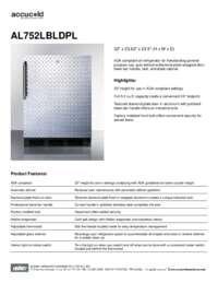 Brochure AL752LBLDPL