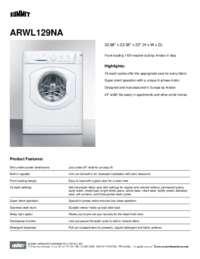 Brochure ARWL129NA