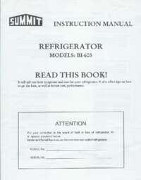 Manual BI605B