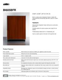 Brochure BI605BFR