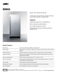 Brochure BIM45