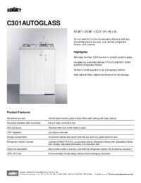 Brochure C301AUTOGLASS