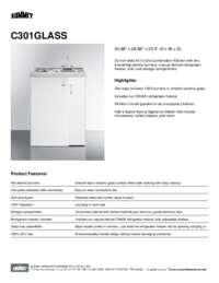 Brochure C301GLASS