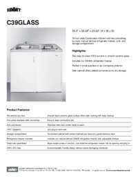 Brochure C39GLASS