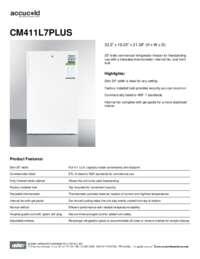 Brochure CM411L7PLUS