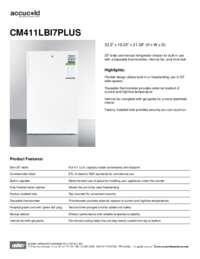 Brochure CM411LBI7PLUS