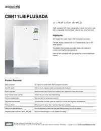 Brochure CM411LBIPLUSADA