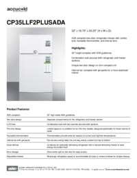 Brochure CP35LLF2PLUSADA