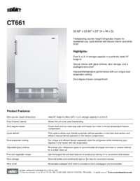 Brochure CT661