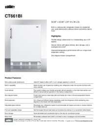 Brochure CT661BI