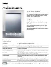 Brochure CT661BISSHHADA