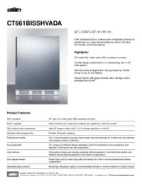Brochure CT661BISSHVADA