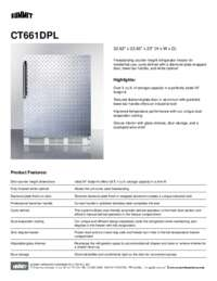 Brochure CT661DPL