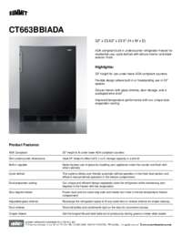 Brochure CT663BBIADA
