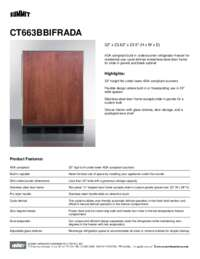 Brochure CT663BBIFRADA