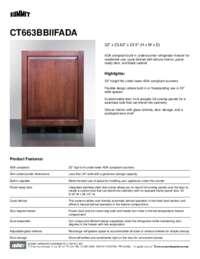 Brochure CT663BBIIFADA