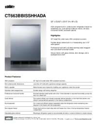 Brochure CT663BBISSHHADA