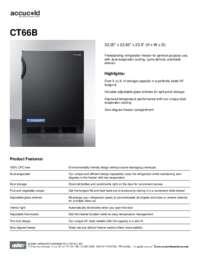 Brochure CT66B