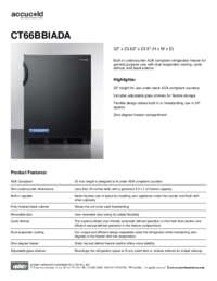 Brochure CT66BBIADA