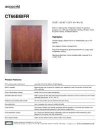 Brochure CT66BBIFR