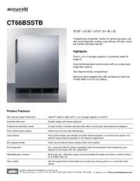 Brochure CT66BSSTB