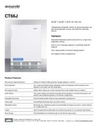 Brochure CT66J