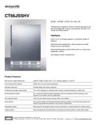 Brochure CT66JSSHV