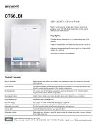Brochure CT66LBI
