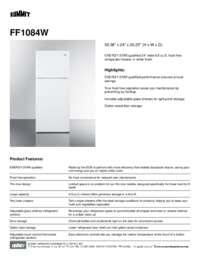Brochure FF1084W