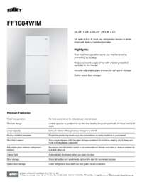 Brochure FF1084WIM