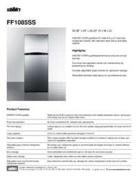 Brochure FF1085SS