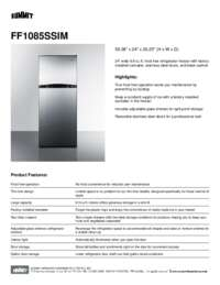 Brochure FF1085SSIM