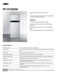 Brochure FF1374SSIM