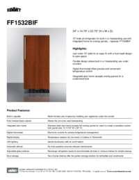 Brochure FF1532BIF