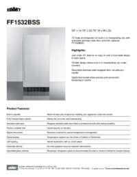 Brochure FF1532BSS