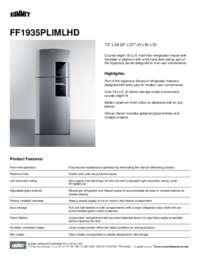 Brochure FF1935PLIMLHD