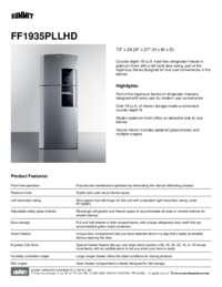 Brochure FF1935PLLHD