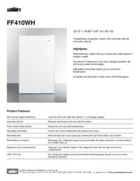 Brochure FF410WH