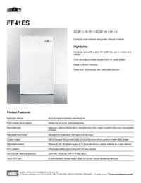 Brochure FF41ES