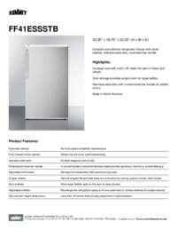 Brochure FF41ESSSTB