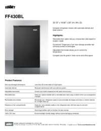 Brochure FF430BL
