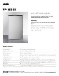 Brochure FF43ESSS