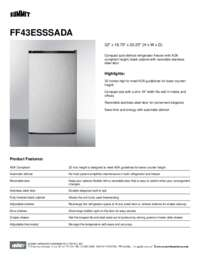 Brochure FF43ESSSADA