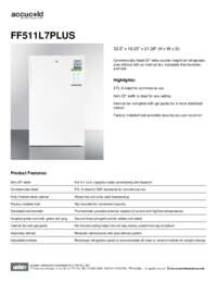 Brochure FF511L7PLUS