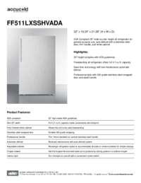 Brochure FF511LXSSHVADA