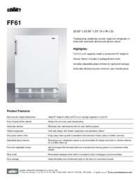 Brochure FF61