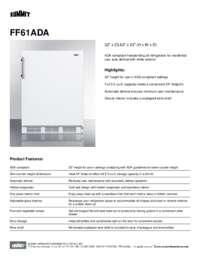 Brochure FF61ADA