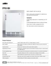 Brochure FF61BI