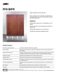 Brochure FF61BIFR